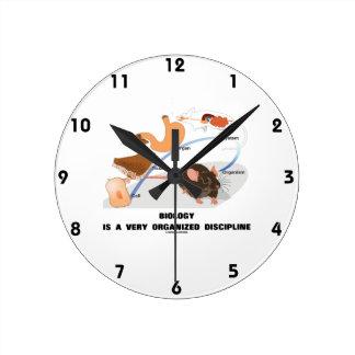 La biología es disciplina muy organizada de A Reloj Redondo Mediano