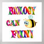 La biología es diversión poster