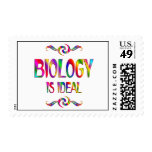 La biología es ideal sello