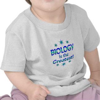 La biología es la más grande camisetas