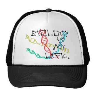 La biología es mi vida gorra