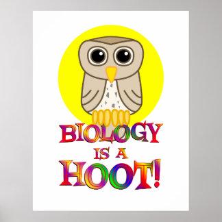 La biología es un pitido - comenzando en $11,80 póster