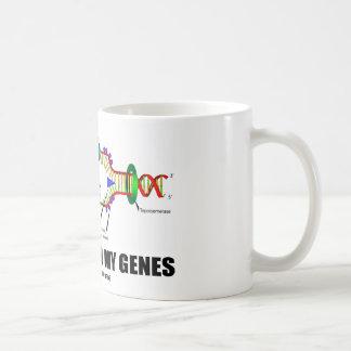 La biología está en mis genes (la réplica de la taza clásica