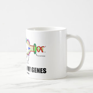 La biología está en mis genes (la réplica de la taza de café