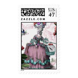 La Birdcage Postage Stamp