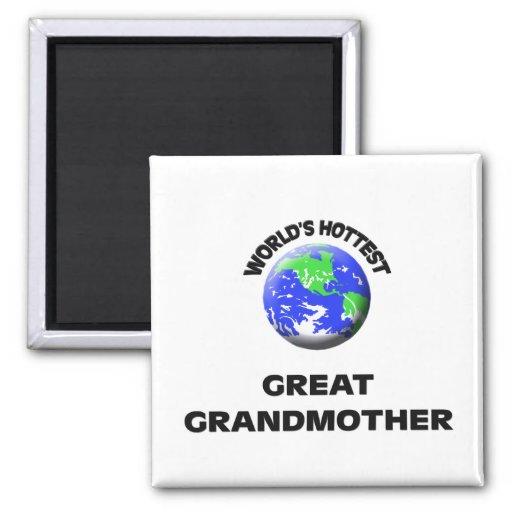 La bisabuela más caliente del mundo imanes de nevera
