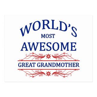 La bisabuela más impresionante del mundo postales