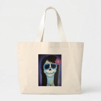 La Bleue Verte Tote Bags