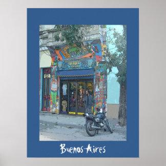 La Boca - Buenos Aires Poster