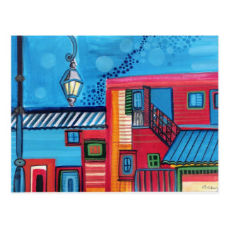 La Boca Houses ARGENTINA Postcard
