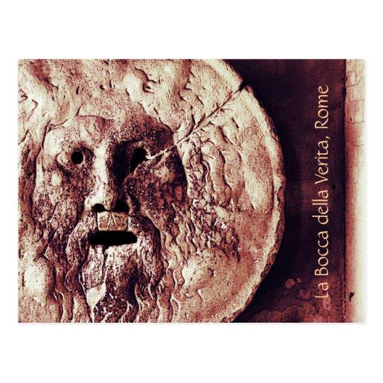 La bocca della verita, Rome postcard