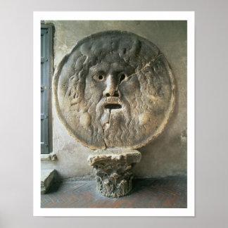 La Bocca di Verita (The Mouth of Truth) (photo) Poster