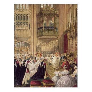 La boda de Edward VII Postal