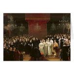 La boda de Frederick Guillermo Tarjeta De Felicitación