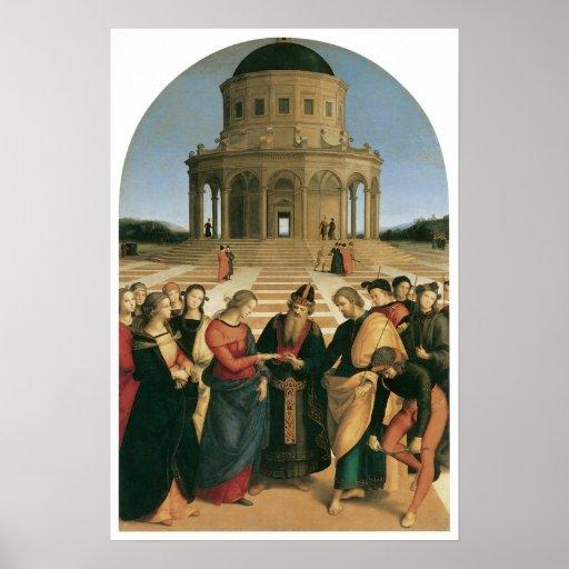 La boda de la Virgen, 1504 Impresiones