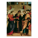 La boda de la Virgen, 1504 Tarjetas