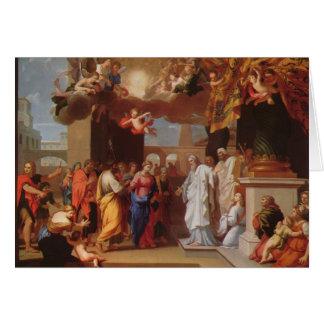 La boda de la Virgen de Jacques Stella Tarjetón