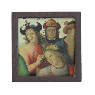 La boda de la Virgen, detalle de los pretendientes Caja De Regalo De Calidad