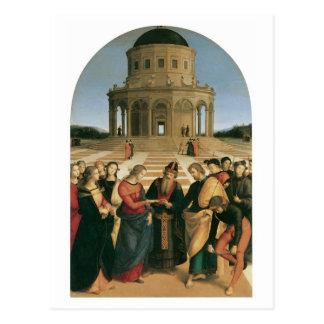 La boda de la Virgen - postales de Raphael