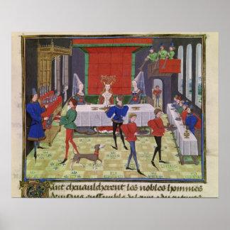 La boda de Renaud de Montauban y de Clarisse Posters