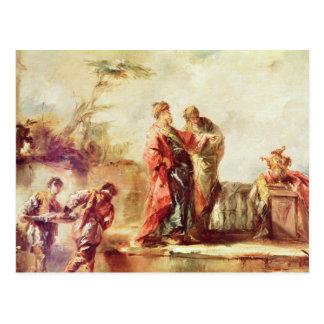 La boda de Tobias, detalle de una serie de PA Postales