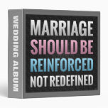 La boda debe ser reforzada