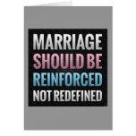 La boda debe ser reforzada felicitaciones