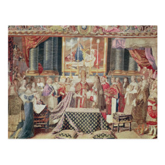 La boda del rey postal