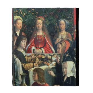 La boda en Cana, detalle de la novia y del surr
