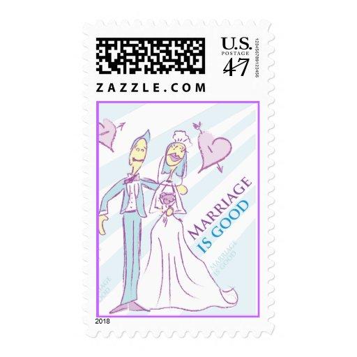 La boda es buen sello