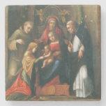La boda mística del santo Catherine