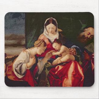 La boda mística del santo Catherine, 1505/8 Mouse Pads