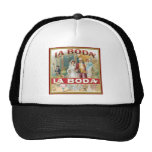 La Boda Vintage Cigar Label Hat
