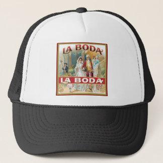 La Boda Vintage Cigar Label Trucker Hat