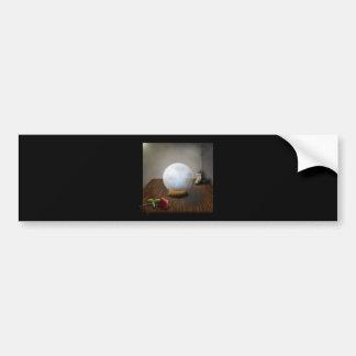 La bola de cristal pegatina para auto