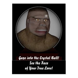 La bola de cristal postales