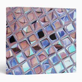 "La bola de discoteca de la plata metalizada reflej carpeta 1 1/2"""