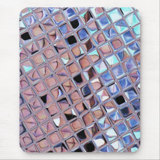 La bola de discoteca de la plata metalizada reflej alfombrillas de ratón