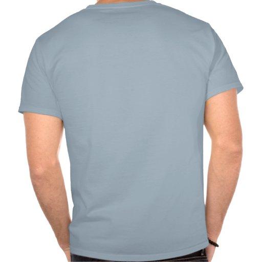 La bola de la espinilla camiseta