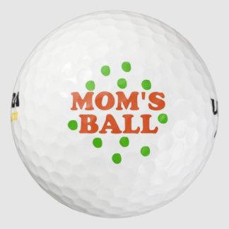 La bola de la mamá pack de pelotas de golf