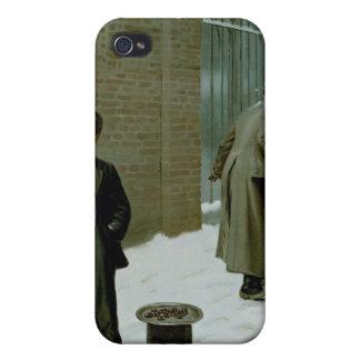 La bola de nieve - culpable o no culpable iPhone 4 carcasas