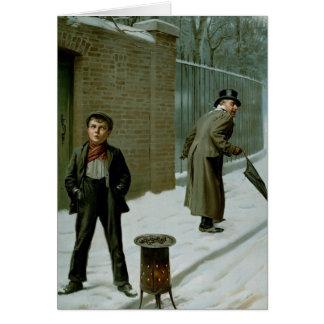 La bola de nieve - culpable o no culpable tarjeta