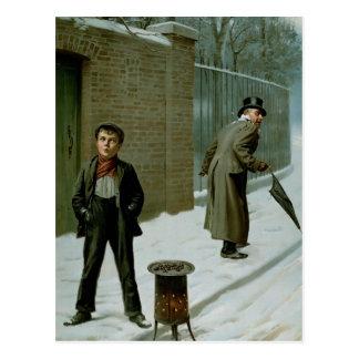 La bola de nieve - culpable o no culpable postal