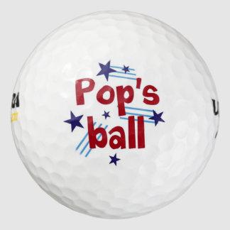 La bola del estallido pack de pelotas de golf