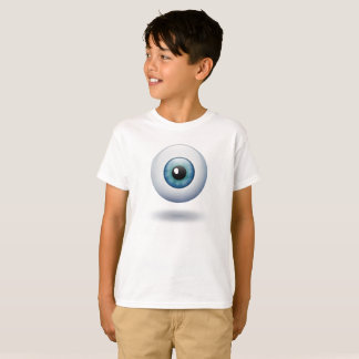 La bola del ojo le está mirando playera
