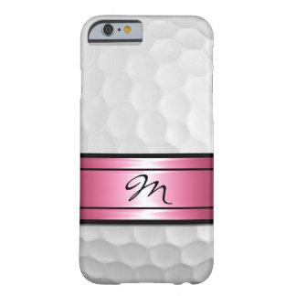 La bola elegante fresca del deporte del golf forma funda barely there iPhone 6