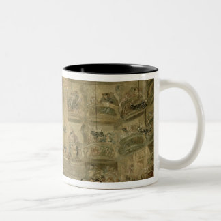 La bola enmascarada, c.1767 tazas de café