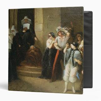 """La bola enmascarada, c.1870 carpeta 1 1/2"""""""