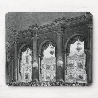 La bola enmascarada, el 23 de enero de 1782 alfombrillas de ratones