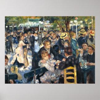 La bola por Pierre-Auguste Renoir Posters